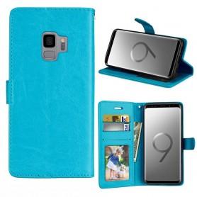 Mobilplånbok 3-kort Samsung Galaxy S9 - Blå