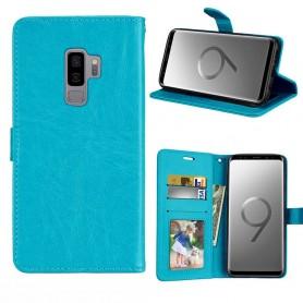 Mobilplånbok 3-kort Samsung Galaxy S9 Plus - Blå