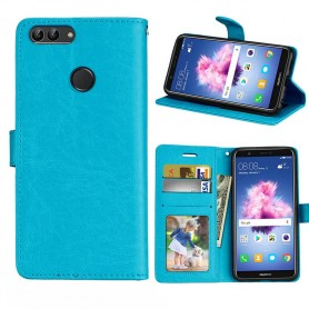 Mobilplånbok 3-kort Huawei P Smart - Blå
