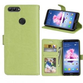 Mobilplånbok 3-kort Huawei P Smart - Grön
