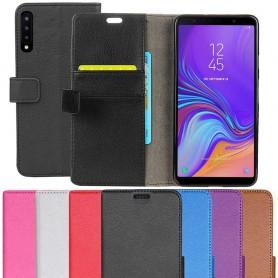 Mobilplånbok 2-kort Samsung Galaxy A7 2018 mobilskal fodral väska caseonline