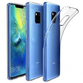 Huawei Mate 20 PRO Silikon skal Transparent mobilskal skydd fodral caseonline