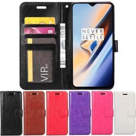 Mobilplånbok 3-kort OnePlus 6T mobilskal fodral caseonline