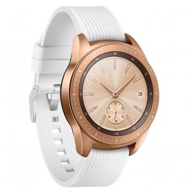 Sport Armband RIB Samsung Galaxy Watch 42mm - Vit (S)