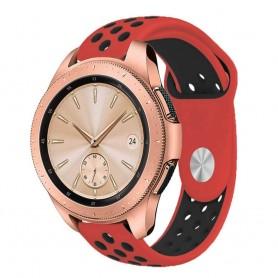 EBN Sport Armband Samsung Galaxy Watch 42mm Röd/svart (S)