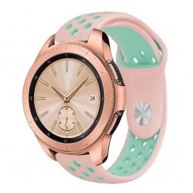 EBN Sport Armband Samsung Galaxy Watch 42mm Rosa/mint (S)