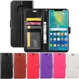 Mobilplånbok 3-kort Huawei Mate 20 PRO mobilskal fodral skydd