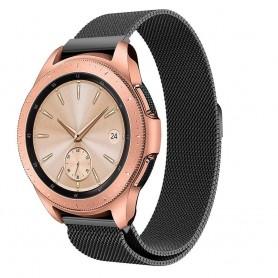 Milanese RSF stål Armband Samsung Galaxy Watch 42mm-Svart klockarmband