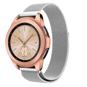 Milanese RSF stål Armband Samsung Galaxy Watch 42mm-Silver