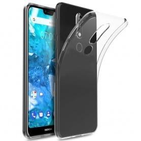 Nokia 7.1 Plus Silikon skal Transparent mobilskal