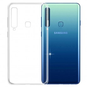 Samsung Galaxy A9 2018 Silikon skal Transparent mobilskal