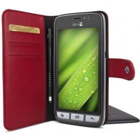 Doro Liberto 8030 Wallet Case - Röd mobilsplånbok mobilskal skydd