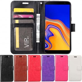 Mobilplånbok 3-kort Samsung Galaxy J4 Plus (SM-J415F)