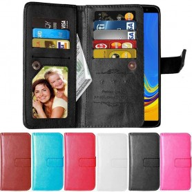 Dubbelflip Flexi 9-kort Samsung Galaxy A7 2018 (SM-A750F)
