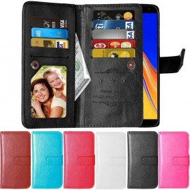 DoubleFlip Wallet Case 9-card Samsung Galaxy J4 Plus (SM-J415F)