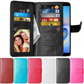 DoubleFlip Wallet Case 9-card Samsung Galaxy J6 Plus (SM-J610F)