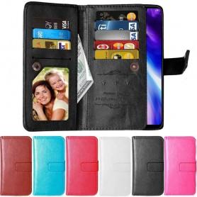 Dubbelflip Flexi 9-kort LG G7 ThinQ (G710EM)