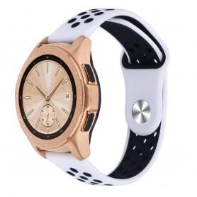 EBN Sport Armband Samsung Galaxy Watch 42mm Vit/svart (S)