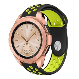 EBN Sport Armband Samsung Galaxy Watch 42mm Svart/gul (S)