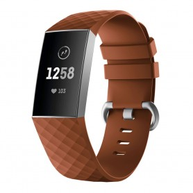Sport Armband till Fitbit Charge 3 - Brun