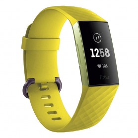 Sport Armband till Fitbit Charge 3 - Gul