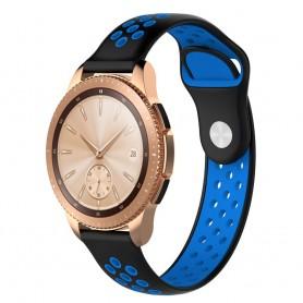 EBN Sport Armband Samsung Galaxy Watch 42mm-Svart/blå (S)