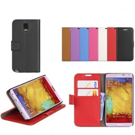 Mobilplånbok 2-kort Samsung Galaxy Note 3 (SM-N9005)