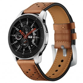 Armband läder Samsung Galaxy Watch 46mm - Brun