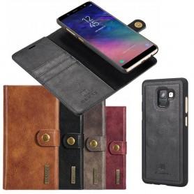 Mobilplånbok Magnetisk DG Ming Samsung Galaxy A6 Plus 2018 mobilskal fodral