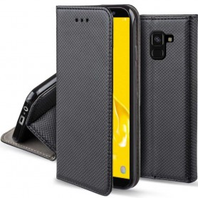 Moozy Smart Magnet FlipCase Samsung Galaxy J6 Plus mobilskal