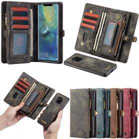 CaseMe-Multiplånbok-11-kort-Huawei-Mate-20-Pro-LYA-L29-mobilskal-fodral-väska-magnetisk-avtagbar-caseonline