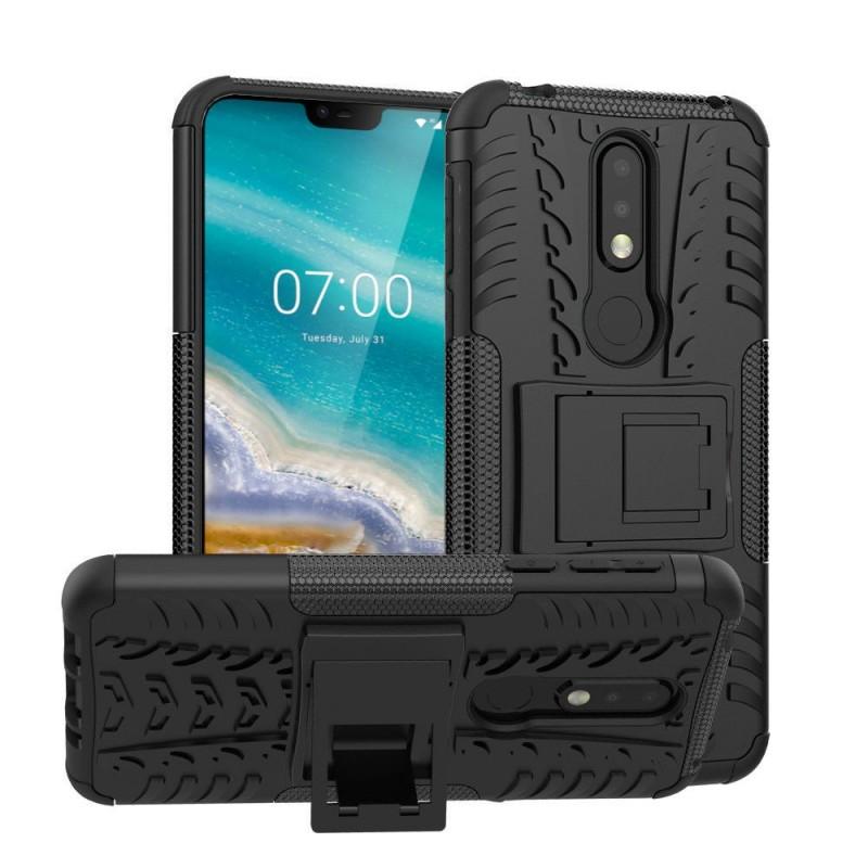 Stöttåligt skal med ställ Nokia 7.1 2018 (TA-1095)