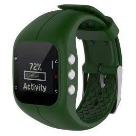 Sport Armband till Polar A300 klock armband - Mgrön
