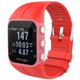 Sport Armband till Polar M400 / M430HR - Röd