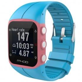 Sport Armband till Polar M400 / M430HR - Ljusblå