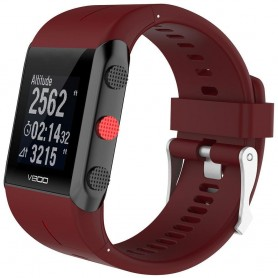 Sport Armband till Polar V800 - Röd