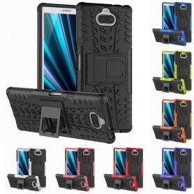 Stöttåligt skal med ställ Sony Xperia XA3 (I4213) mobilskal skydd silikonskal caseonline