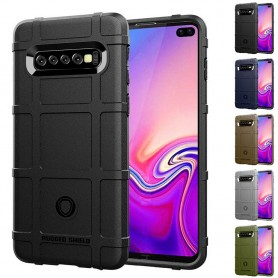Rugged Shield skal Samsung Galaxy S10 Plus (SM-G975F) mobilskal skydd caseonline