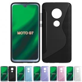 S Line silikon skal Motorola Moto G7 (XT1962) mobilskal skydd caseonline