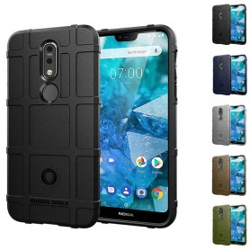Rugged Shield skal Nokia 7.1 Plus (TA-1136) mobilskal skydd caseonline