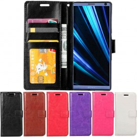 Mobilplånbok 3-kort Sony Xperia 10 (I4213) mobilskal fodral väska caseonline