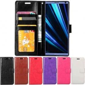 Mobilplånbok 3-kort Sony Xperia XA3 (I4213) mobilskal fodral väska caseonline