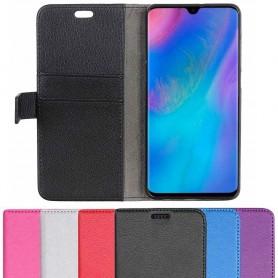 Mobilplånbok 2-kort Huawei P30 mobilskal fodral väska caseonline