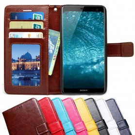 Mobilplånbok 3-kort Sony Xperia XZ4 mobilskal fodral väska caseonline