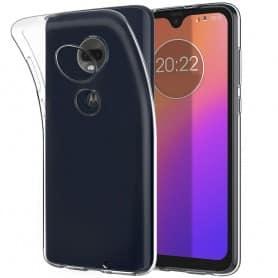 Silikon skal Transparent Motorola Moto G7 (XT1962) mobilskal skydd caseonline