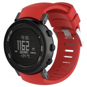 Sport Armband till Suunto Core ALU Black - Röd
