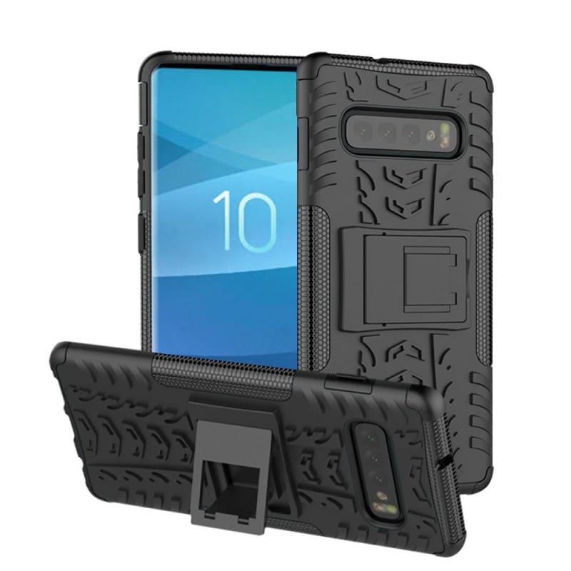Stöttåligt skal med ställ Samsung Galaxy S10 (SM-G970F) mobilskal skydd  caseonline ba4451a9684d7
