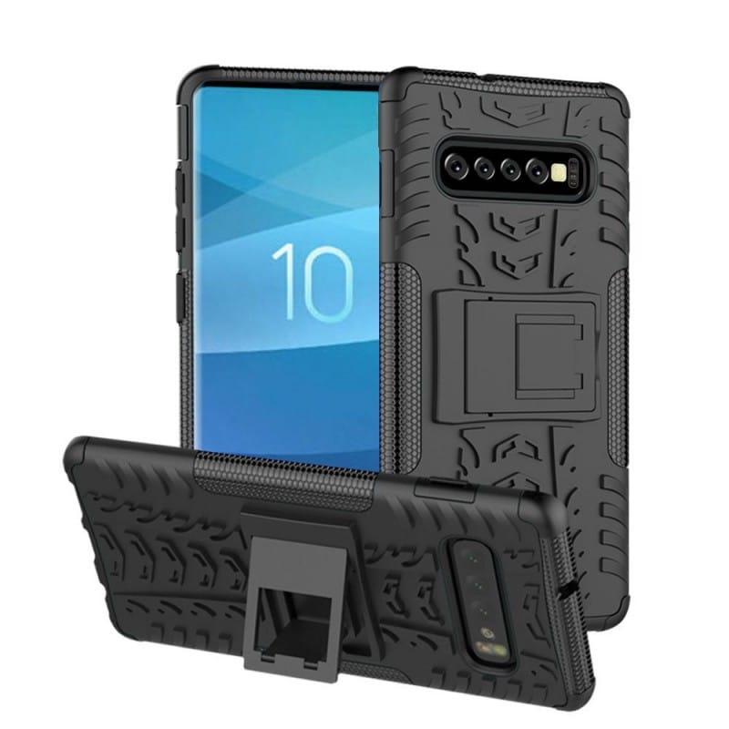 Stöttåligt skal med ställ Samsung Galaxy S10 Plus (SM-G975F)