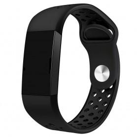Fitbit Charge 3 EBN Sport Armband - Svart