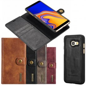 Mobilplånbok Magnetisk 2i1 DG Ming Samsung Galaxy J4 Plus (SM-J415F) mobilskal fodral